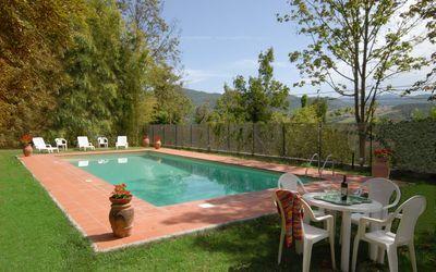 Luxusvillen zu mieten in der toskana italien for Piani casa moderna collina