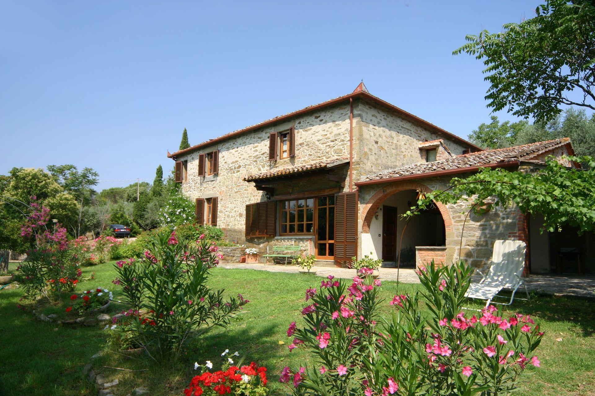 Villa Cortona   Ferienhäuser Toskana für Personen mit Schlafzimmer ...